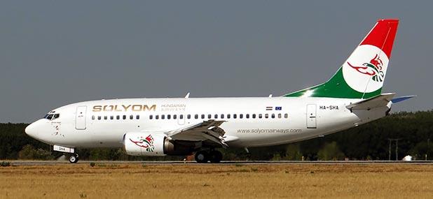 Ungarische Fluglinie