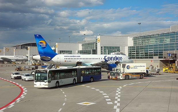 Abflugterminal Condor Frankfurt