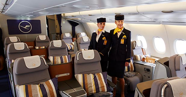 Lufthansa Flight attendant Training
